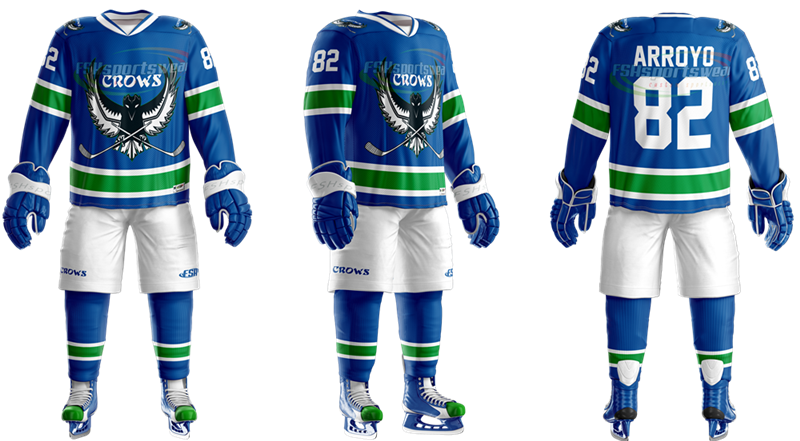 White-blue ice hockey jersey.png