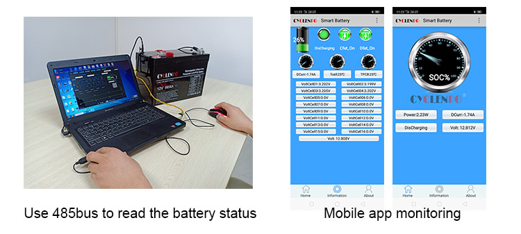 With bluetooth function 12v 200Ah Lifepo4 Lithium Ion Battery Pack
