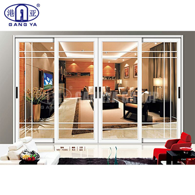 Hurricane Proof Impact Commercial Sliding Doors for Sale 40 Series